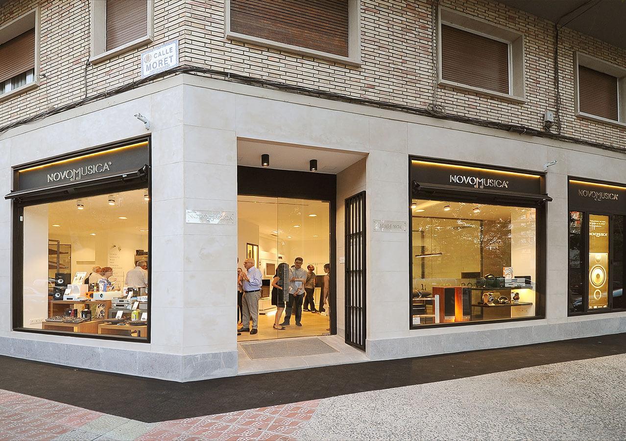 Interiorismo Tienda Novomusica Zaragoza